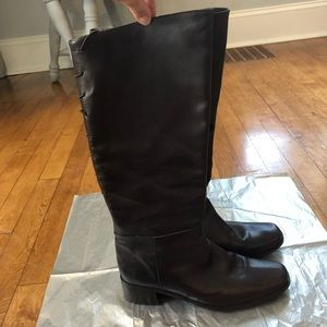 Prialpas Gomma Brown Italian Leather Boots 7.5